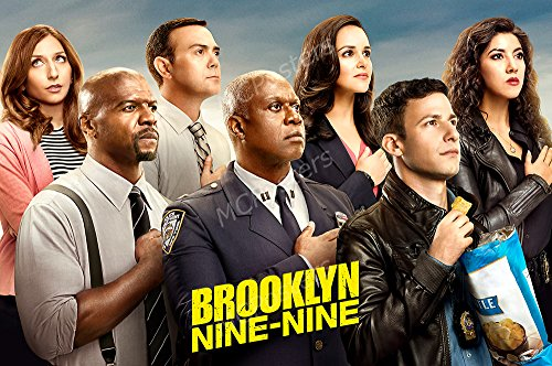 MCPosters Brooklyn Nine Nine TV Show Series Poster GLOSSY FINISH - TVS537 (16