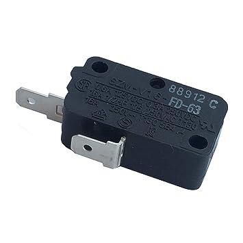 LONYE SZM-V16-FD-63 Microinterruptor para puerta de horno de ...