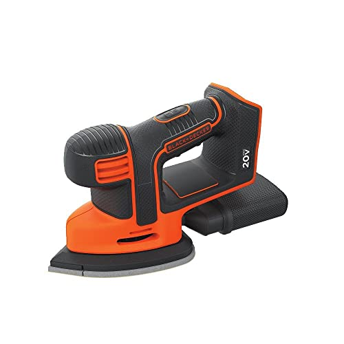 BLACK DECKER 20V MAX Mouse Sander, Tool Only BDCMS20B