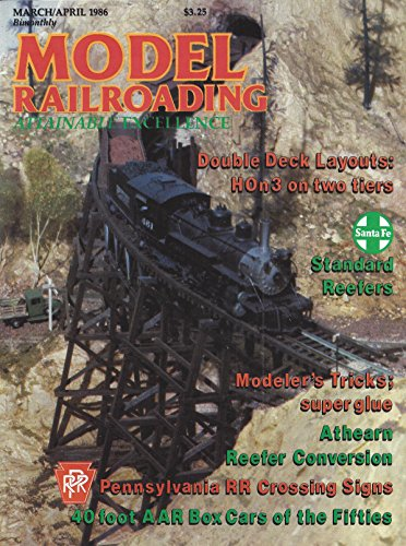 - Model Railroading : Double Deck Layouts- Hon3 on Two Tiers; Modeler's Tricks- Super Glue; Athearn Reefer Conversions; Pennsylvania RR Crossing Signs; 40 Foot Box Car of the Fifties; Tiger Valley HO Scale Alco C420 Diesel