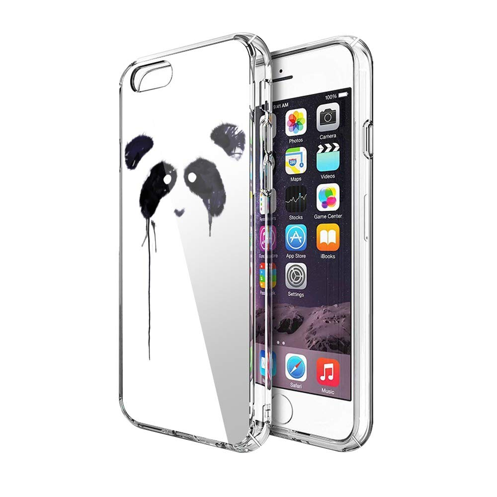 Case Phone Anti-Scratch Cover Creature Animal Panda Animals (5.5-inch Diagonal Compatible with iPhone 6 Plus, iPhone 6s Plus)