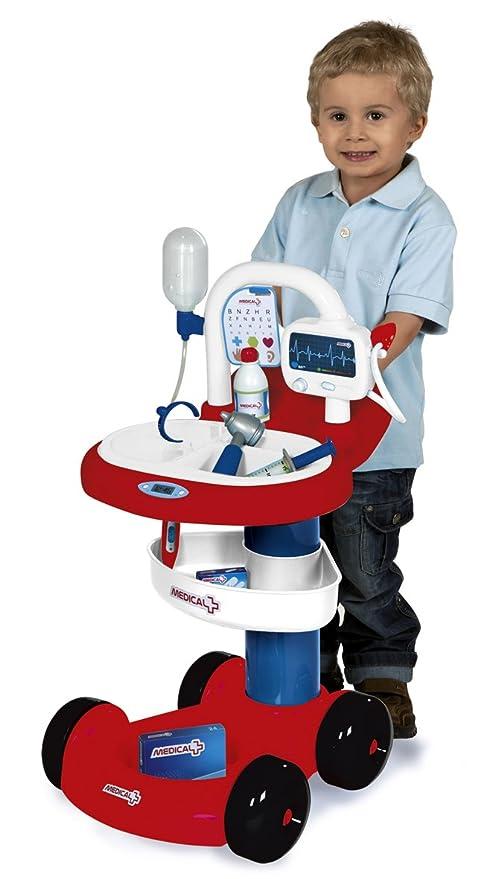 Smoby 024 605 - Juego de imitación - Trolley Médico