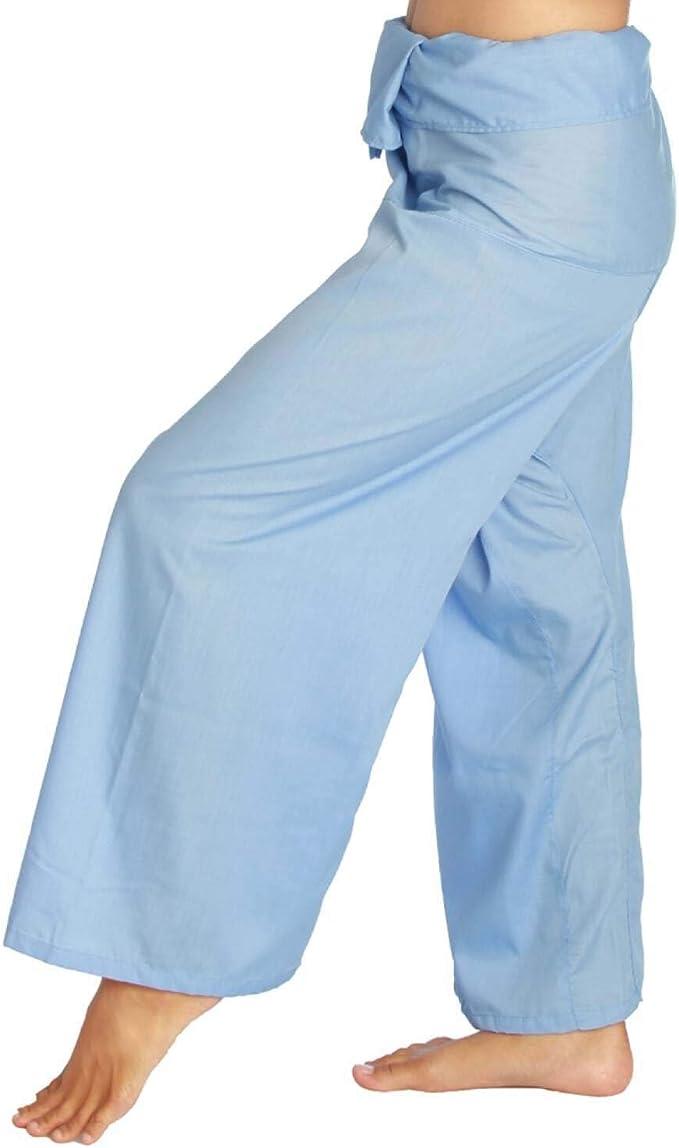 Secretos de Siam Thai Pescador Pantalones Unisex luz Peso Wrap ...