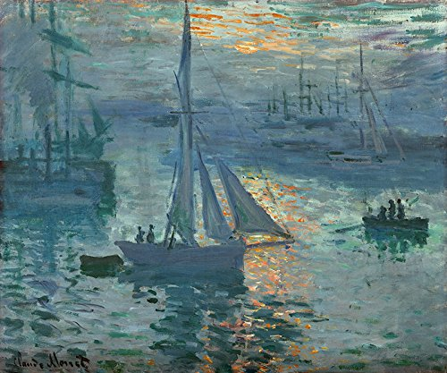 OATS 1873 FRENCH IMPRESSIONISM PAINTING BY CLAUDE MONET 11