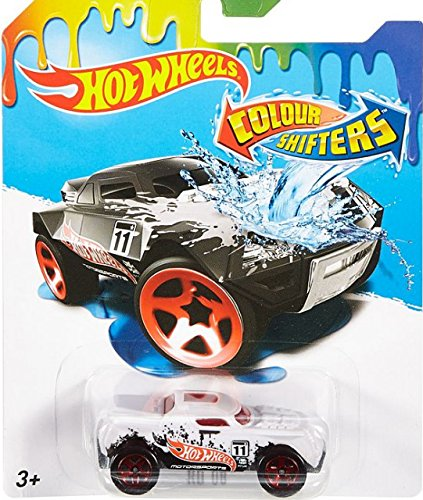 (RD 08 Hot Wheels Color Shifters 2016 (Black to White) 1:64 Scale)