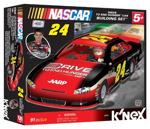 K'NEX NASCAR Building Set: Jeff Gordon's #24 Drive to End Hunger Car