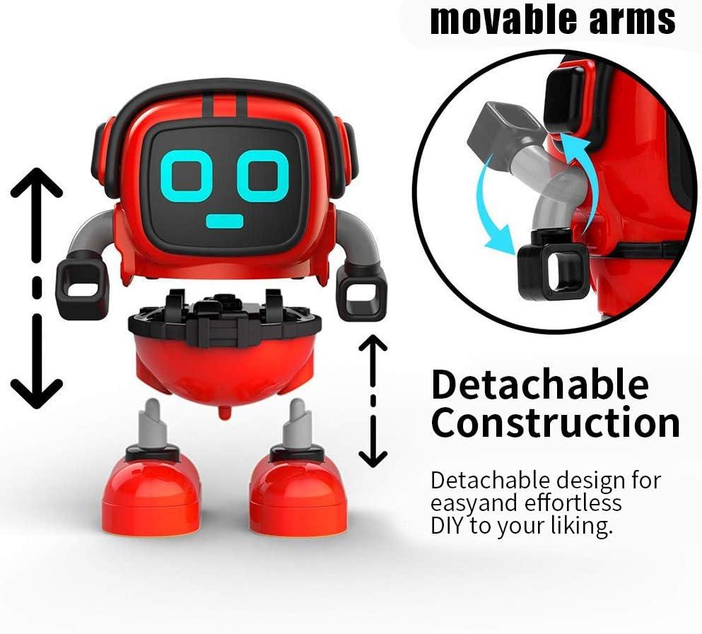 TICE Nouveaut/é Assembl/é Gyro Robot Bataille Jeu Jouet Spinning Cadeau pour Enfants