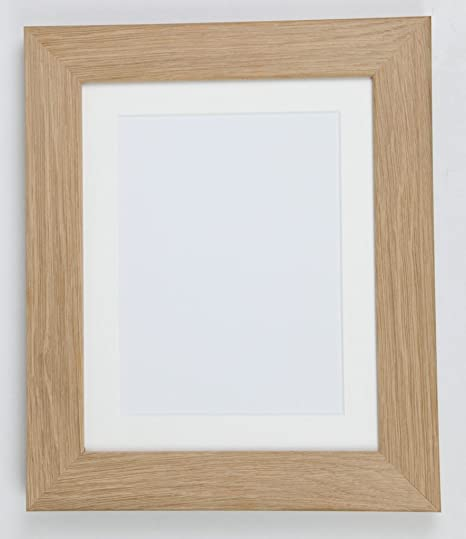 Real Solid Natural Oak Wood Picture Photo and Poster Frames, (16\