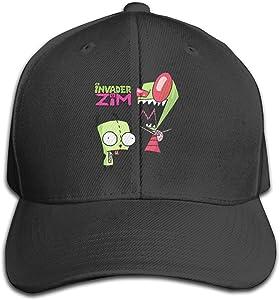 Invader Gir And Zim Anime Baseball Hat