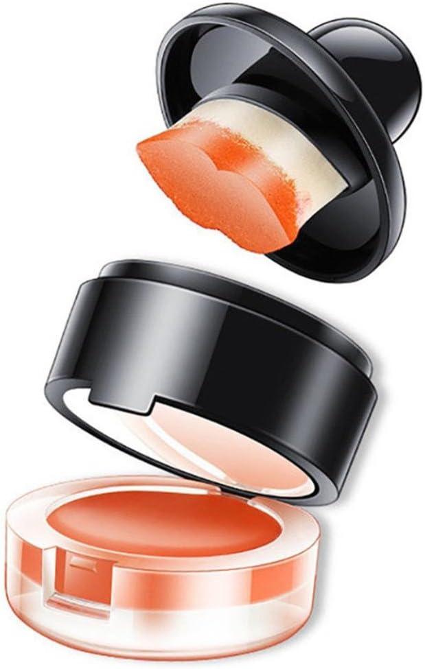 amuster Bálsamo Labial perezoso cosmética pintalabios, fácil ...
