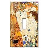 Art Plates - Klimt: Ages of Women Switch Plate