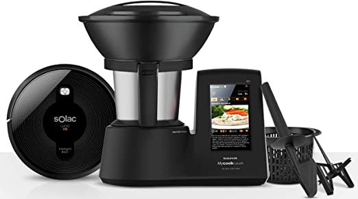 Taurus Mycook Touch Black Edition + Solac Lucid I10 Robot ...