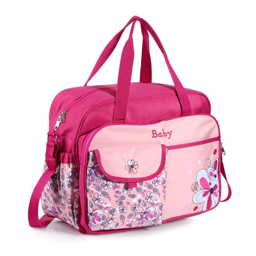 AFFEco Maternity Mummy Diaper Bag Large-Capacity Waterproof Shoulder Handbag Blue