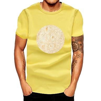 Camiseta para Hombre, Verano Manga Corta Impresión Mexicano Moda ...