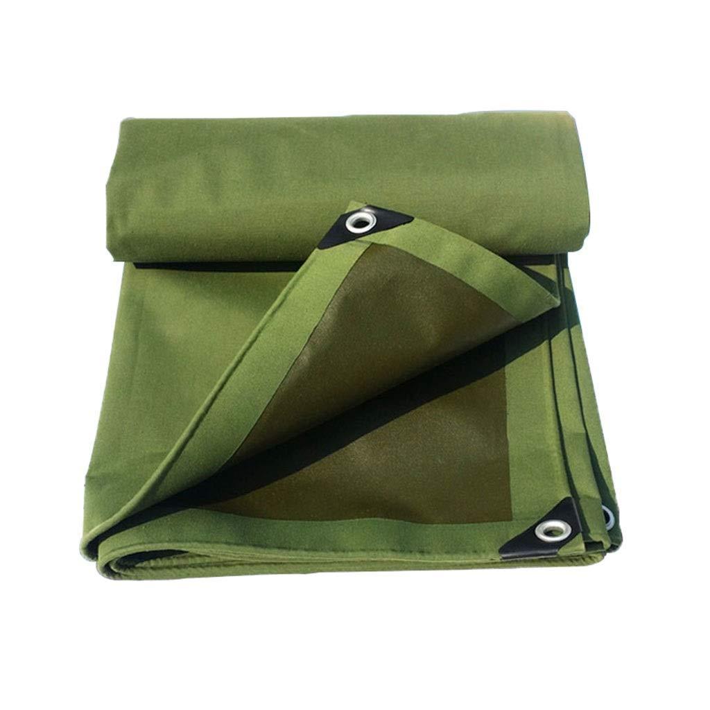 BAIJJ épais Pare-Vent imperméable de bÂche imperméable de Toile imperméable de Toile Solaire épaisse pour Le Camping de Camion résistant à l'usure (Taille  3x5m)  3x5m