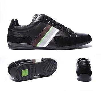 Hugo Boss - Zapatillas de deporte (talla 40), color negro y verde