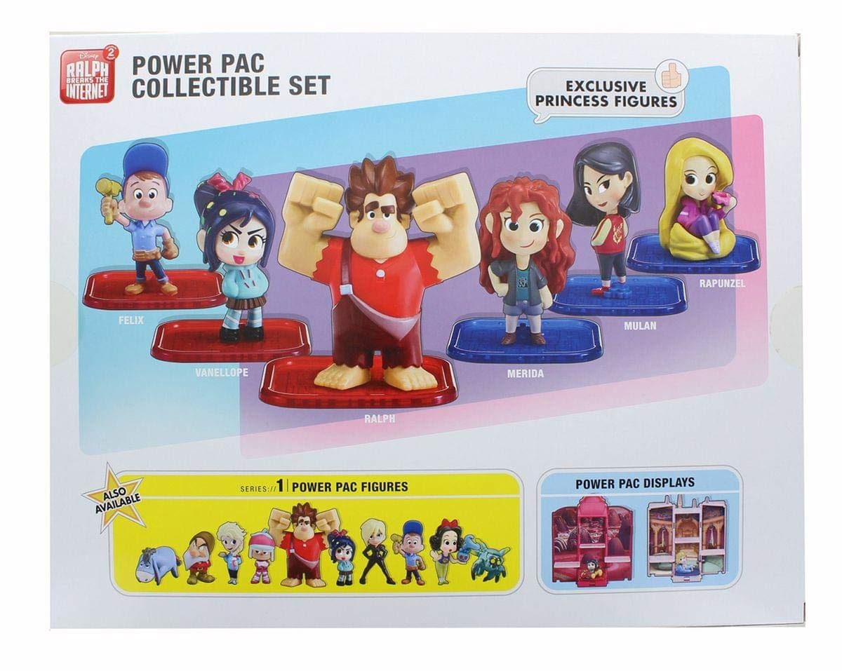 Wreck-It Ralph Figures Ralph Breaks the Internet Power Pac Collectible Set