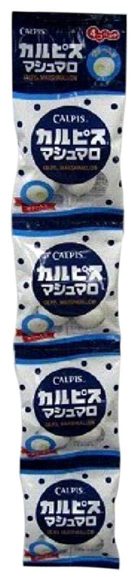 Quadruple Calpis marshmallow (four X4 bags) X12 pieces