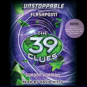 The 39 Clues: Flashpoint Audiobook