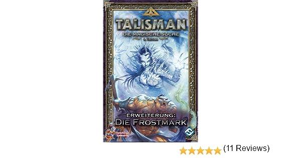 Pegasus Heidelberger HE303 Talisman, Die Frostmark - Juego de Mesa (ampliación, a Partir de 13 años, de 2 a 6 Jugadores, Contenido en alemán): Amazon.es: Juguetes y juegos