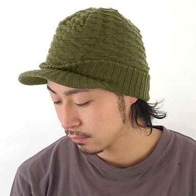 Casualbox Charm Mens Womens Knit Brim Cap Hat Beanie Cotton Wavy