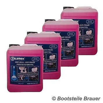 Bootstele Brauer 4 x 5 l talemex para protección contra heladas ...
