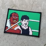 Little Mac Punchout Woven Morale Patch by NEO Tactical Gear Morale Patch - Iron On or Hook Backed Available (Hook Backed)