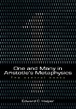 Front cover for the book One and Many in Aristotle's Metaphysics: The Central Books by Edward C. Halper