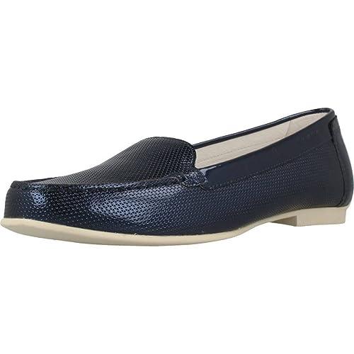 Mocasines para Mujer, Color Azul, Marca STONEFLY, Modelo Mocasines para Mujer STONEFLY Capri III 2 Azul: Amazon.es: Zapatos y complementos