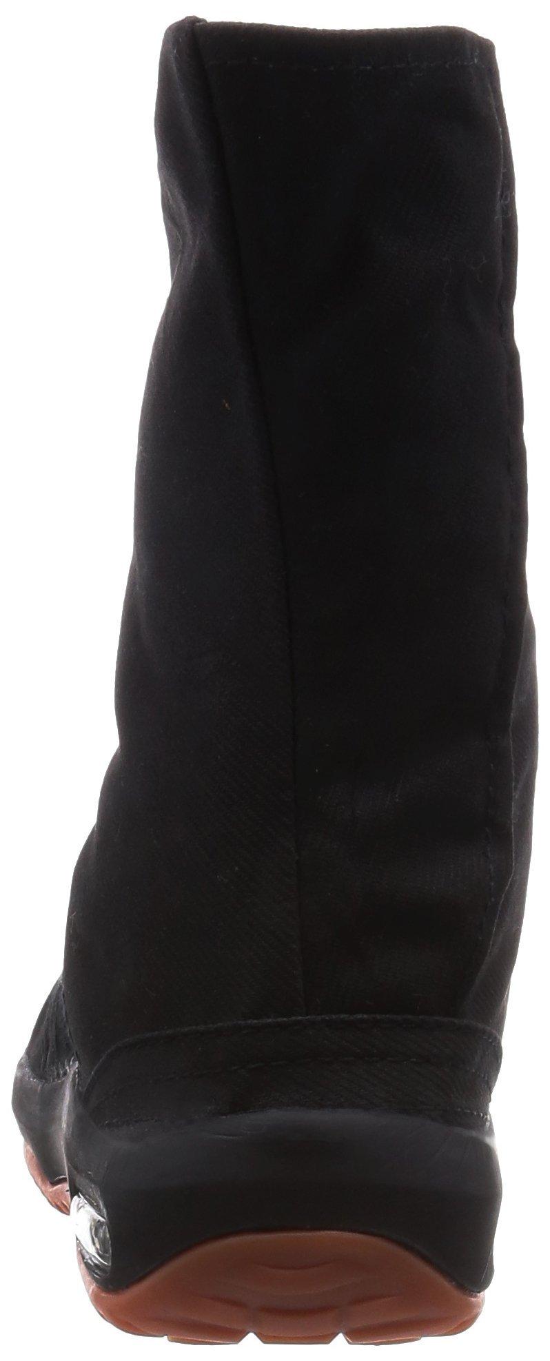 Ninja shoes, AIR JOG 6, Jika TabiSize: 25.0 cm (US size 7 ), Color: Black by Marugo (Image #3)