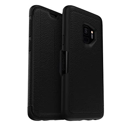 OtterBox STRADA SERIES Case for Samsung Galaxy S9 - Retail Packaging - SHADOW (BLACK/PEWTER)
