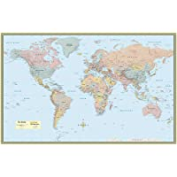 World Map-Laminated