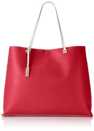 Ivanka Trump Julia Shopper Shoulder Bag,Coral,One Size