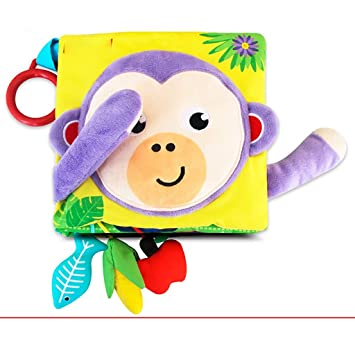 Nuoen Livre En Tissu Doux Pour Bebe Livres Pour Tout Petits