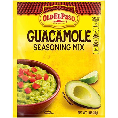 Old El Paso Guacamole Mild Seasoning Mix 1 oz Packet (pack of - Seasoning Guacamole