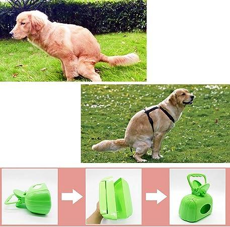 Blue Ueetek Pet Dog Waste Poop Scoop Grabber Portable Faeces Scoop Pooper Scooper Waste Pick Up