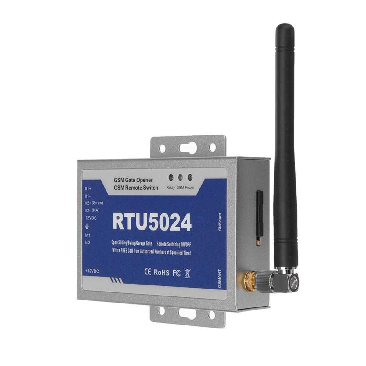 RTU5024 abrepuertas con Control gsm Dial gsm Abridor de Puerta a Distancia Soporta Llamadas Gratis SMS Comandos Interruptor Remoto SM