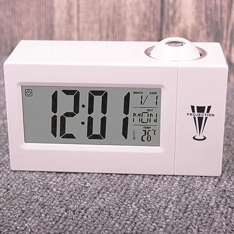 Despertador Infantil Niña Digital Reloj Despertador De Proyección ...