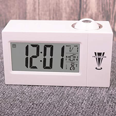 Despertador Proyector De Estrellas Reloj Reloj De Alarma De ...