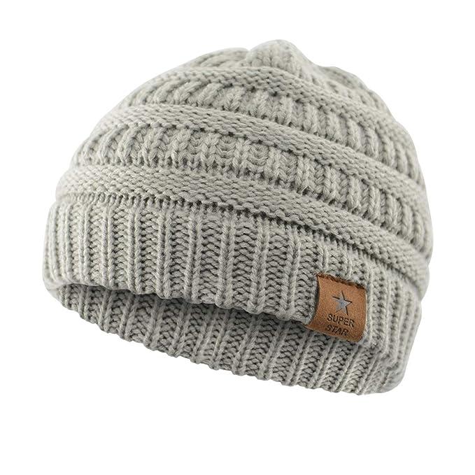 Amazon.com: Durio - Gorro de invierno suave y cálido para ...