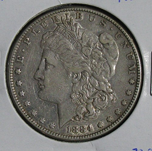 1884 P Morgan Dollar Very Fine