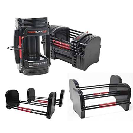 POWERBLOCK EXP Adjustable Dumbbell Set 5-90lbs