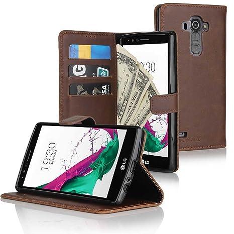 Cowhide Flexi Cuba Funda para LG G2 & LG G4 - Funda Cover ...