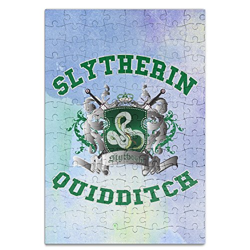 [KIDDOS Personalized Picture Print Harry Potter-Slytherin Quidditch 5 Jigsaw Puzzle Puzzle A4 - 120] (Persona 4 Dancing All Night Costumes)