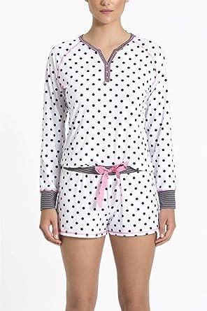 db6b7dbfe59658 Pijama Recco Curto Malha Touch: Amazon.com.br: Amazon Moda