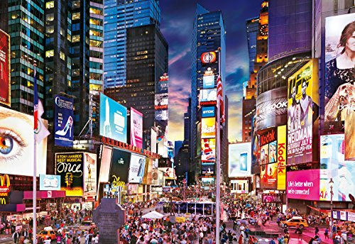 Buffalo Games - Times Square - 2000 Piece Jigsaw - Square Shops Times New York