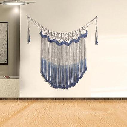 Amazon.com: Handmade Large Macrame wall hanging Fiber wall art ...