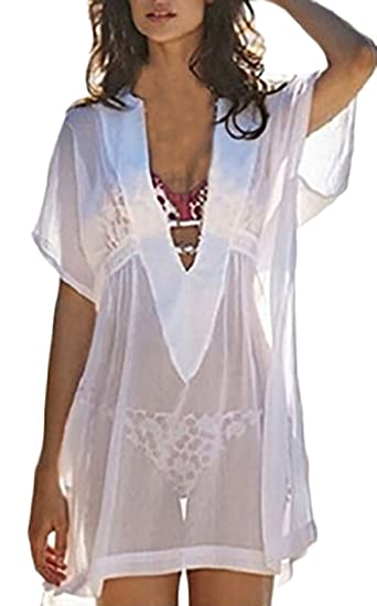 Pareos Playa Mujer Verano Tallas Grandes Anchos Blusas De Moda 2018 Transparentes Tunicas Ropa Fiesta Modernas