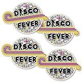 70's Disco - Disco Ball Decorations DIY 1970's Disco Fever Party Essentials - Set of 20