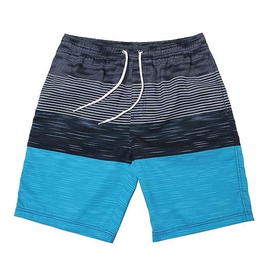 Hombres nadando boxer troncos Ropa de playa para hombre ...
